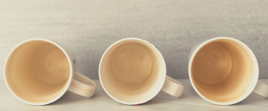 Remove Tea Stains from Cups in Dishwasher