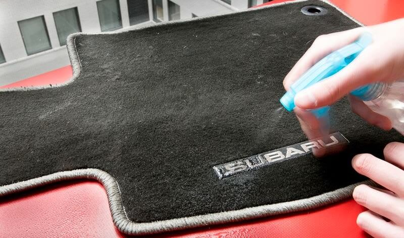 How to Remove Salt Stains from Car Carpet