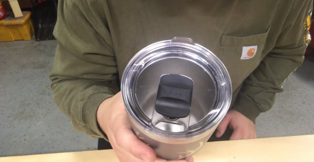 How to clean coffee stains from Yeti