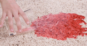 How To Remove Juice Stains From Carpet?