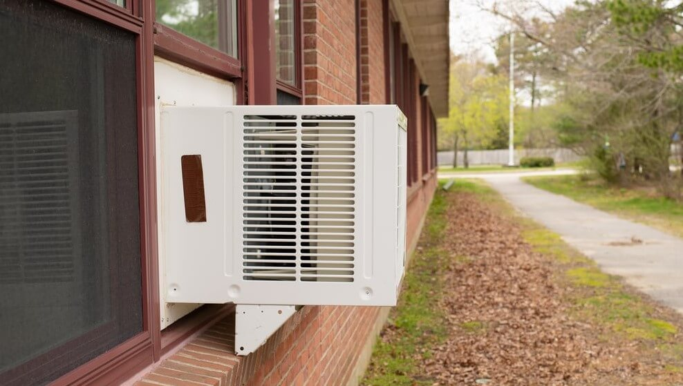 How to Remove Front Cover of Window Air Conditioner
